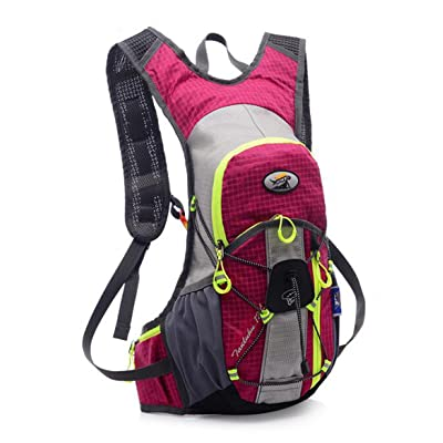 Sac à dos de course à pied Mouvement Fitness l'eau Sac à dos en plein air épaules Off-road d'équitation un sac pour homme et femme Petite 12litres Sac de sport