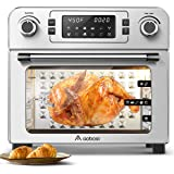 Aobosi Toaster Oven Air Fryer Oven Toaster Convection Oven Digital Countertop Rotisserie Oven Pizza Oven 10-in-1 Multi…