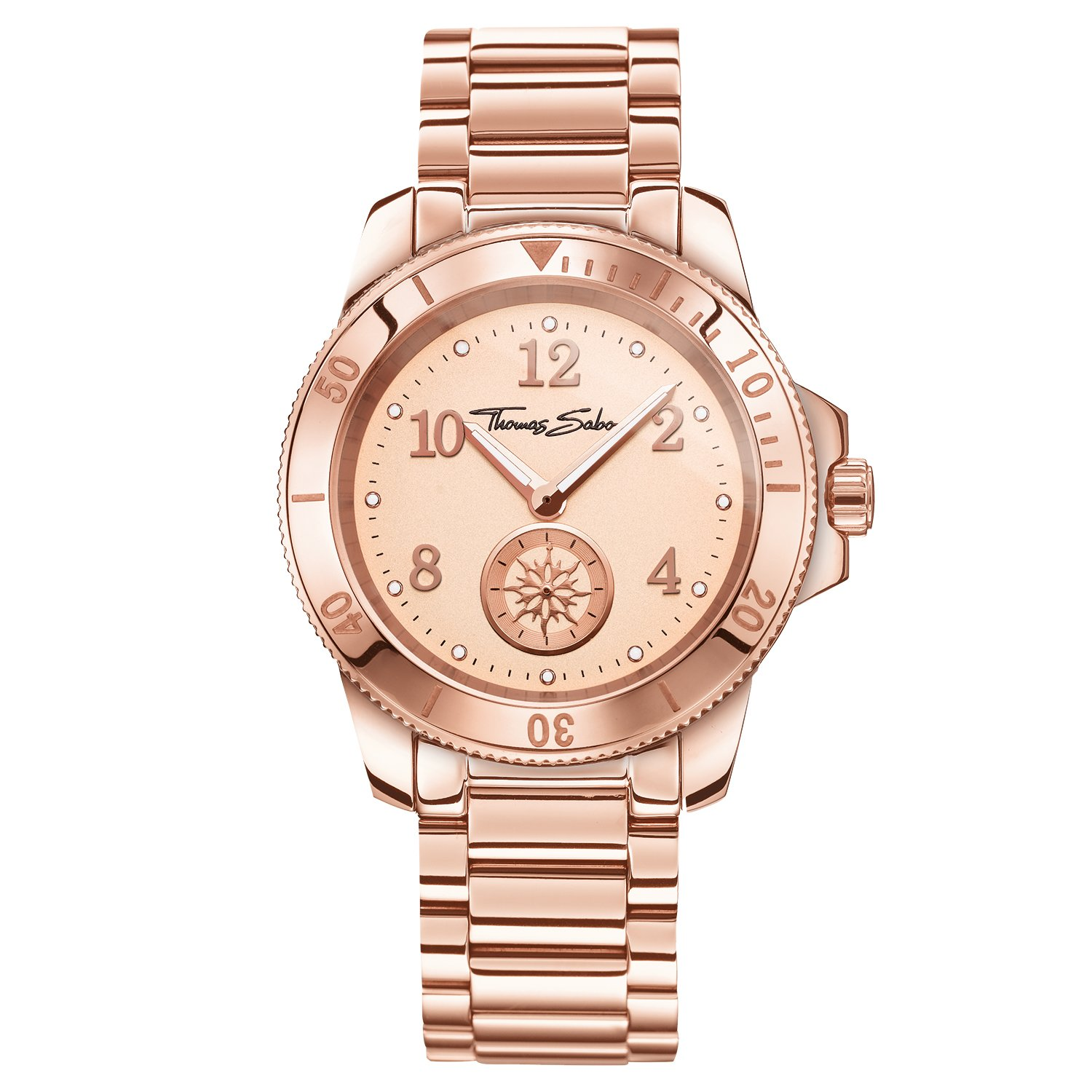Thomas Sabo Watches - Damen Damenuhr GLAM CHIC  - Edelstahl