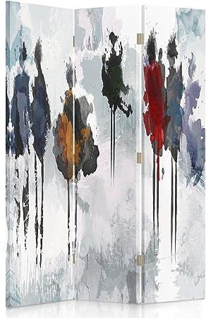 Feeby Frames Paravent d/éco Abstraction Impression 1 Face Multicolore 110x150 cm