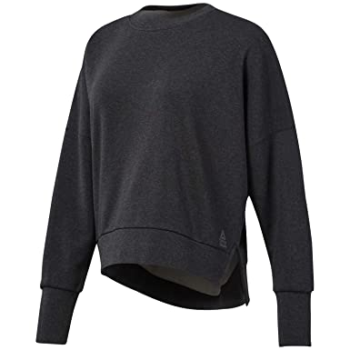 Reebok Crossfit Damen Sweatshirt Terry Crew  Amazon.de  Bekleidung ac963139bfa4a
