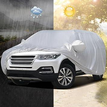 Audew Funda para Coche Cubierta SUV Impermeable Universal 5.3X2.0X1.8M