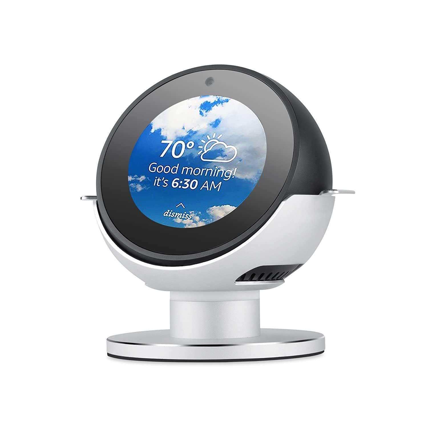 Yocktec Adjustable Stand for Echo Spot Accessories Stand (White)