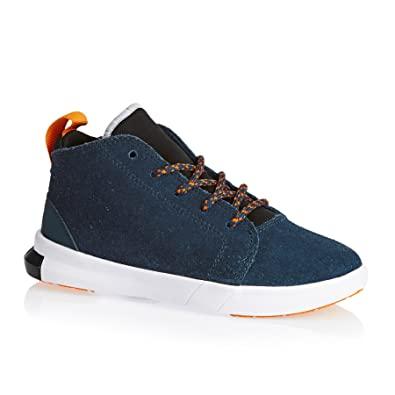 e627f3d8e9b5 Image Unavailable. Image not available for. Color  Converse Chuck Taylor  All Star Easy Ride Mid Blue Fire Vivid Orange White (