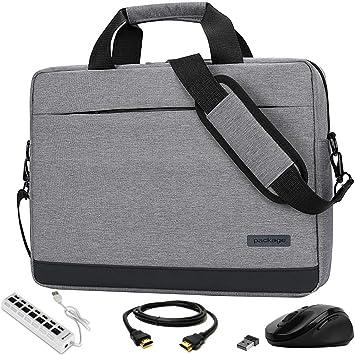 Amazon.com: VG Bags Endo - Bolso bandolera para portátil de ...