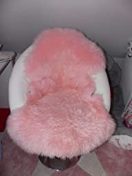 Fell teppich rosa  NaDeco® Schaffell rosa | Lammfell | Dekofell | Fellteppich: Amazon ...