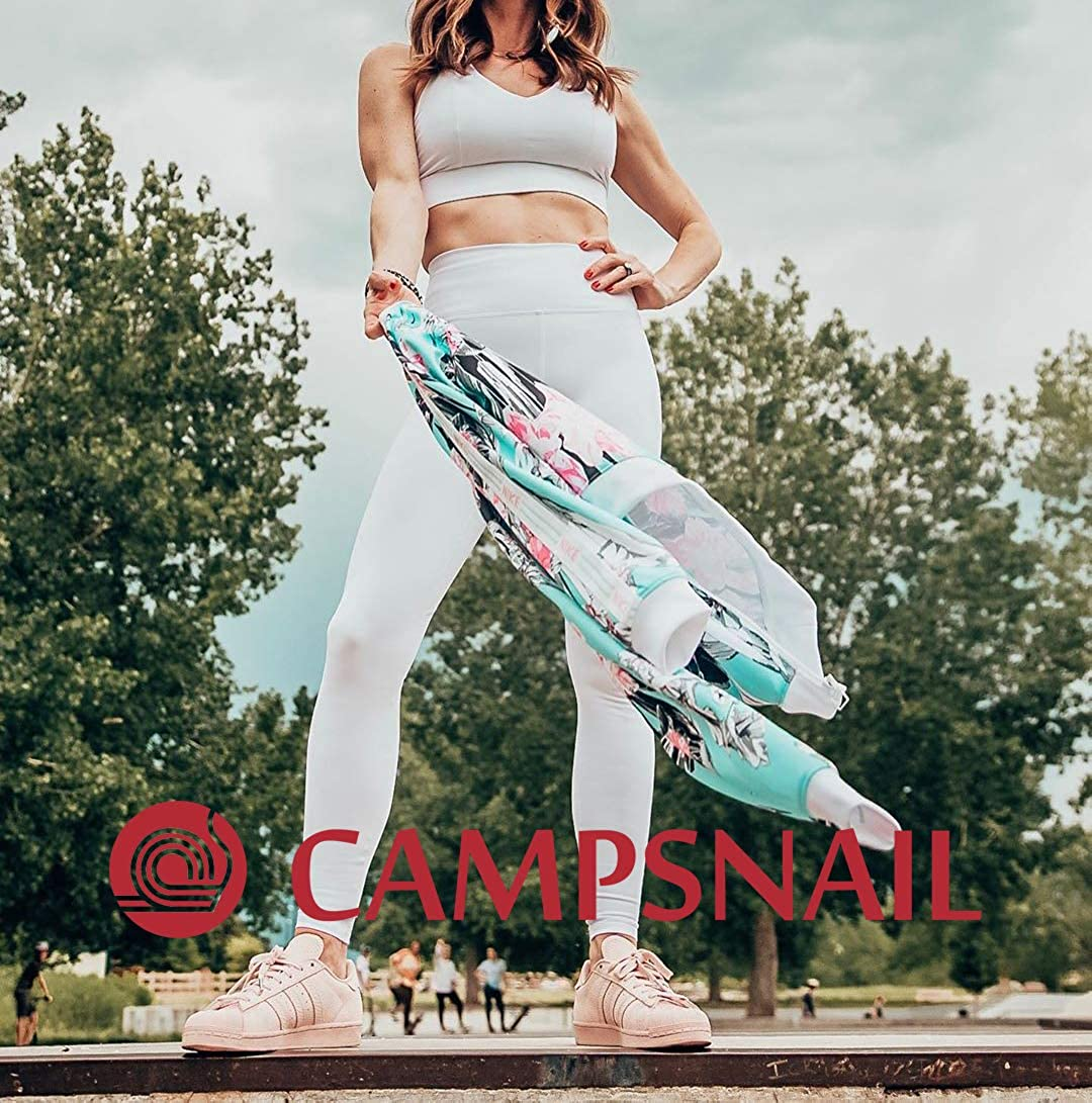 Soft Tummy Control Slimming Yoga Pants for Workout Athletic Running Reg /& Plus Size CAMPSNAIL Women High Waisted Leggings