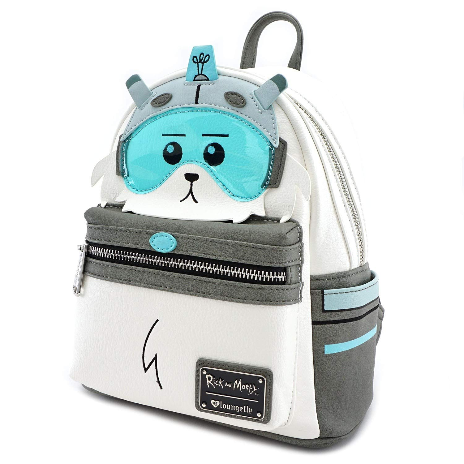 Loungefly x Rick and Morty Snuffles Lawnmower Dog Mini Backpack