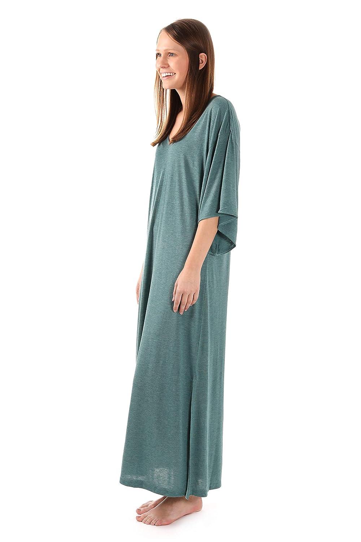 N Natori Congo Caftan Dress for Women Kimono Dress Mumu Sleepshirt N Natori Women/'s Sleepwear ZC0001