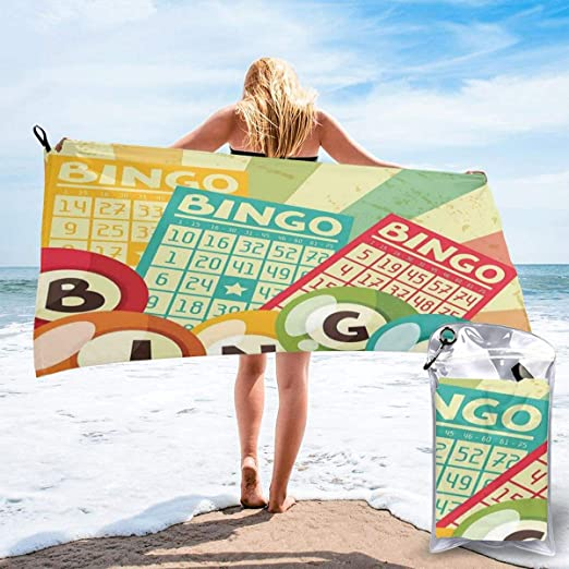 Surfers Carrying Their Surf Microfiber Beach Towel Sports Printed Travel Bath Towel For Yoga Camping Surfing Swimming Gym Super Compact Absorbent Quick Dry Blanket Large 27.5x55 Inch // 31.5x63 Inch