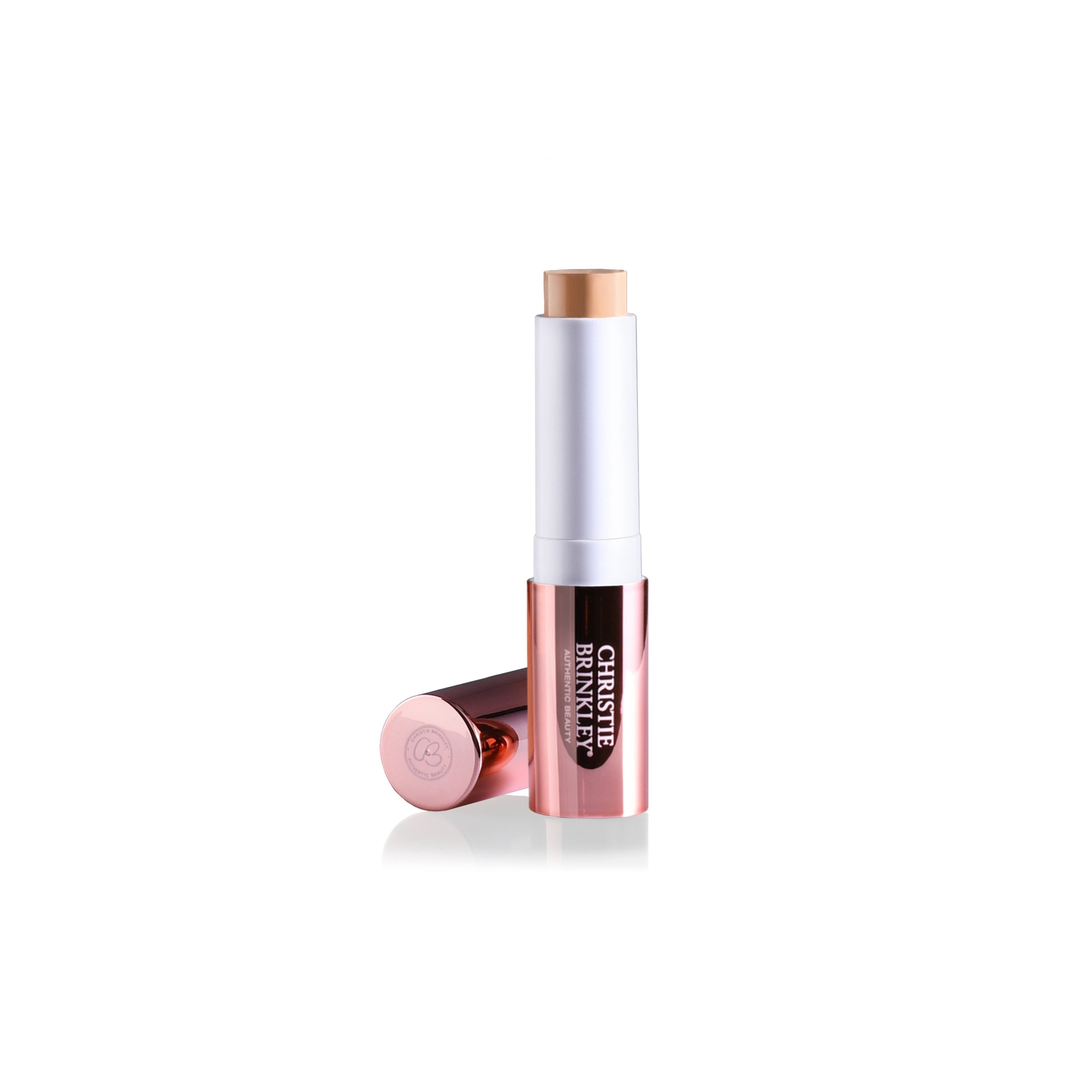 Christie Brinkley Authentic Beauty Secrets and Lines Under Eye Concealer, 0.16 oz (Light Warm)