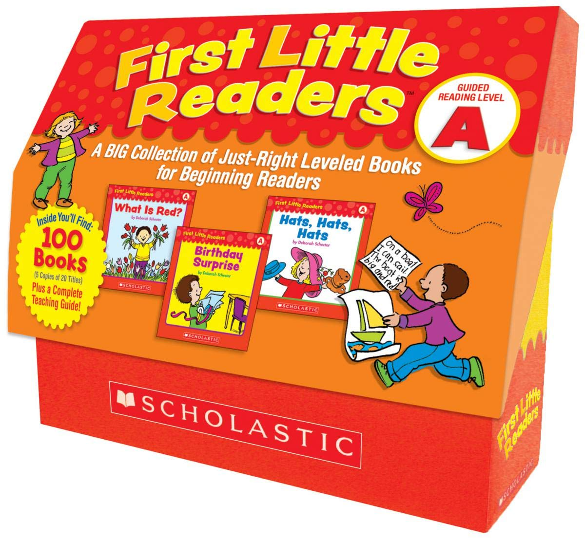 First Little Readers: Guided Reading Level A: A Big Collection of Just-Right Leveled Books for Beginning Readers by Scholastic Teaching Resources (Teaching Strategies)