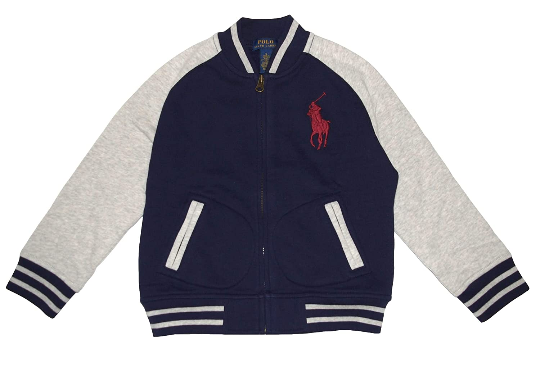 Ralph Lauren Polo Boys Big Pony Fleece Baseball Jacket (6)