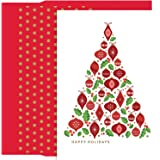 Ornament Bouquet Holiday Collection 18 pk Petites Boxed Christmas Holiday Cards