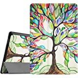 """Fintie ASUS ZenPad S 8.0 (Z580C / Z580CA) SmartShell Case - Ultra Slim Lightweight Stand Cover with Auto Sleep / Wake for 2015 Released ASUS ZenPad S 8.0 Z580C / Z580CA 8"""" Android Tablet, Love Tree"""