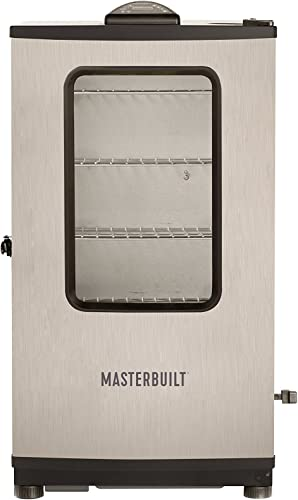 Masterbuilt 20072718 Top Controller Electric Smoker with Window and RF Controller