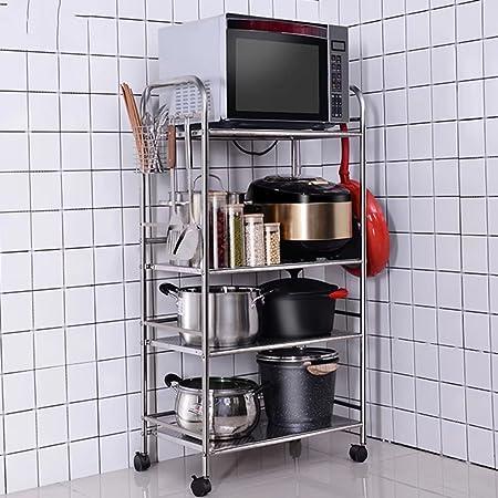 MAIKA HOME Estante para verduras de 4 capas/estante para ...