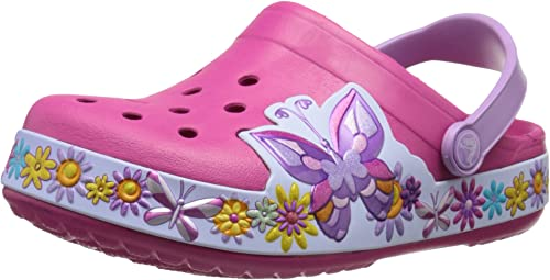 GIRLS CROCS FUNLAB DISNEY MICKEY CLOG CANDY PINK SIZE 8,9,13,1,2,3 NEW