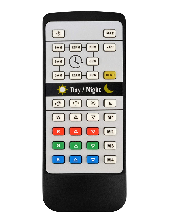 NICREW Remote Controller for 24//7 RGB Planted Plus Aquarium Light