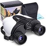 Kids Binoculars,10x25 (not 8x21) Outdoor Binoculars for Kids, (BAK4 Prism) Folding Spotting Telescope for Bird Watching, Camp