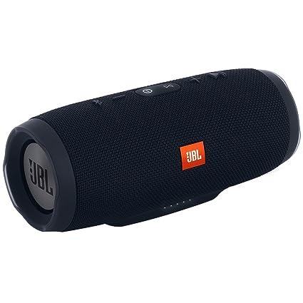 JBL Charge 3 Powerful Portable Speaker with Built-in Powerbank(Black)