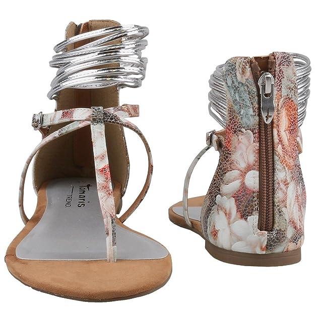 Tamaris Women's 1 1 28116 26 908 Thong Sandals Multicolour