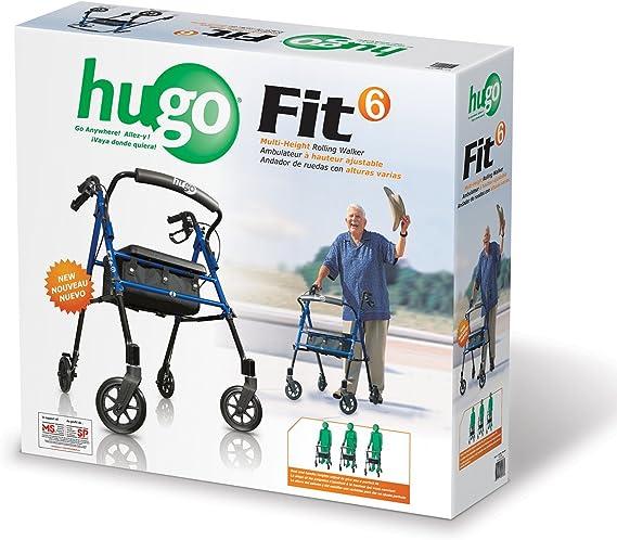 Amazon.com: Hugo Movilidad 700 – 913 Fit Rollator Walker Con ...