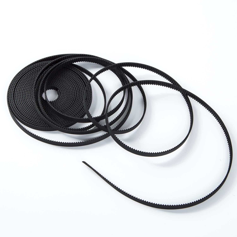 S.Y.M 3D Printer Pen Timing Belt 6mm Width Rubber Fiberglass for 3D Printer (Opened-Belt) 10M Printer Accessories by S.Y.M (Image #5)