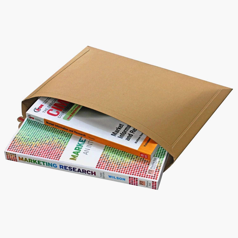 mm Peel /& Seal Envelopes Strip Open Capacity A5 Book Mailler Pack of 1,000 AKAR Rigid Cardboard C5 Envelope 400 GSM Card 180 x 235
