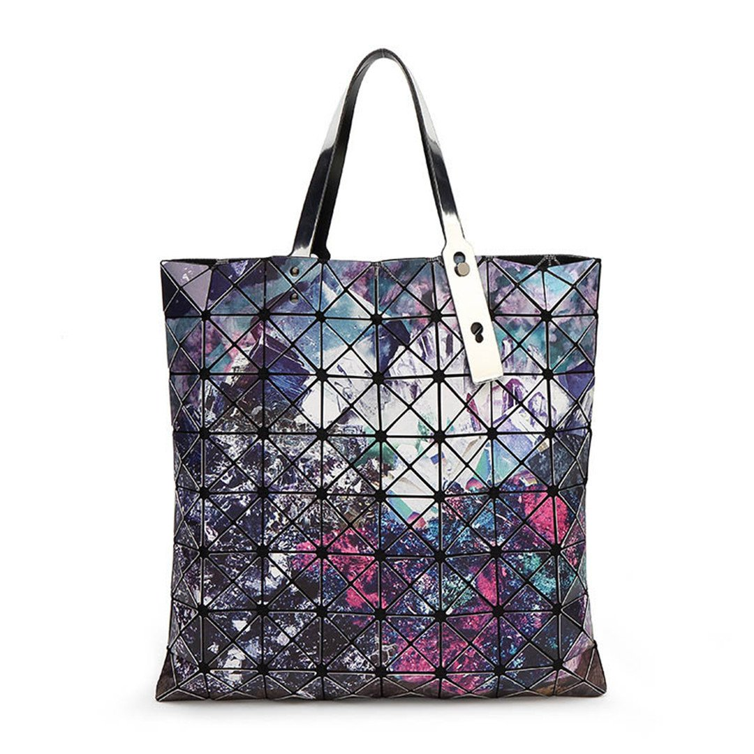 Starry Sky Bags Geometry Bolsos de Mujer Hot Bag Top Handle Patchwork Bolso 1: Amazon.es: Equipaje