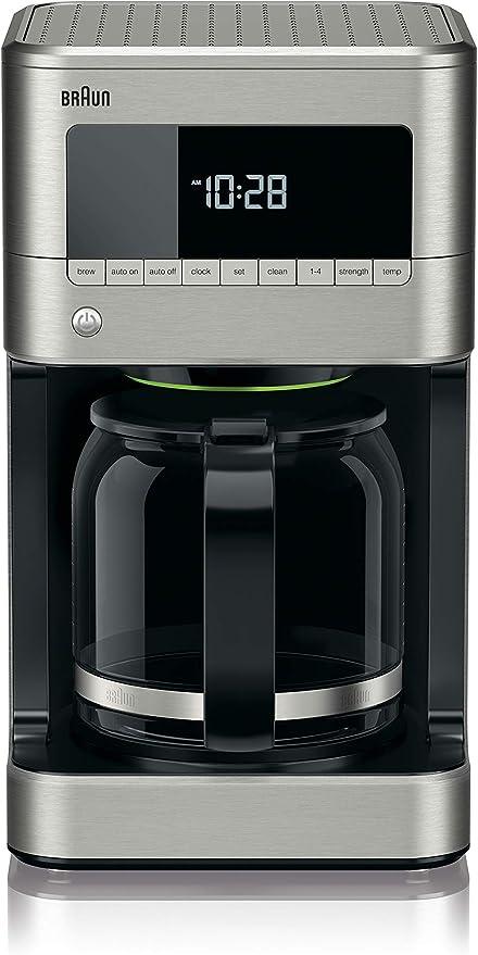 Amazon.com: Braun BrewSense, cafetera, para 12 tazas ...