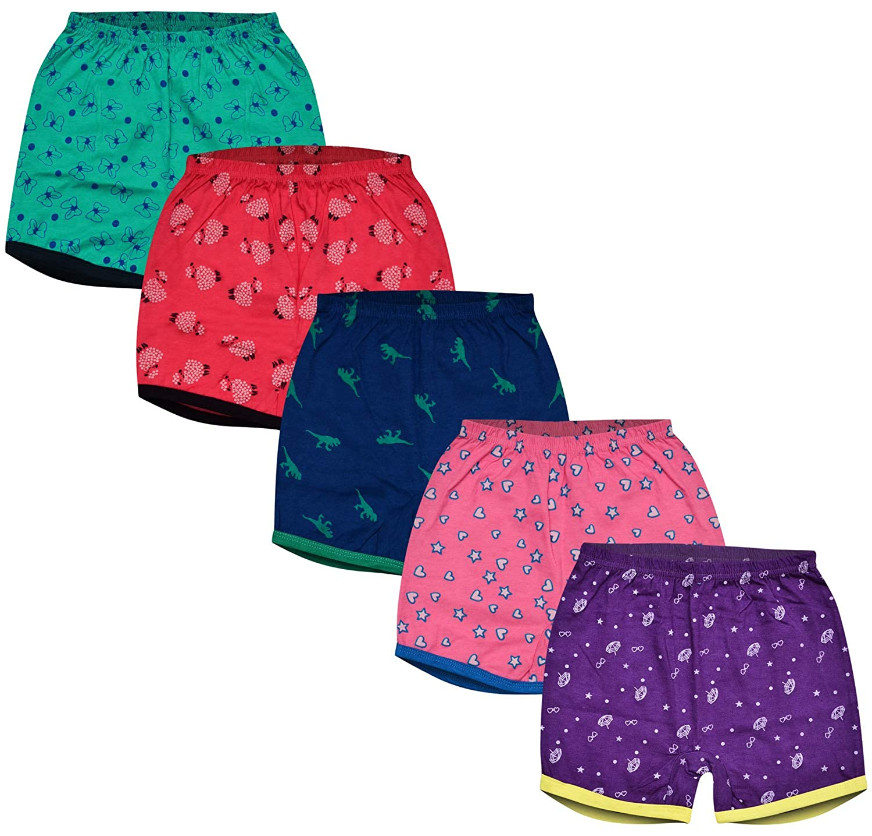 MYKID Unisex Cotton Shorts for Babies - Pack of 5 Asspee Group