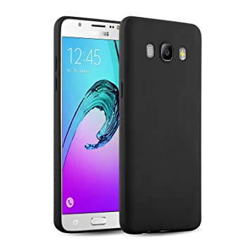 [ Galaxy J5 2016 Case ] - Carcasa JammyLizard Ultra Fina De Goma Silicona Para Samsung Galaxy J5 2016 Jelly Back Cover, AMARILLO