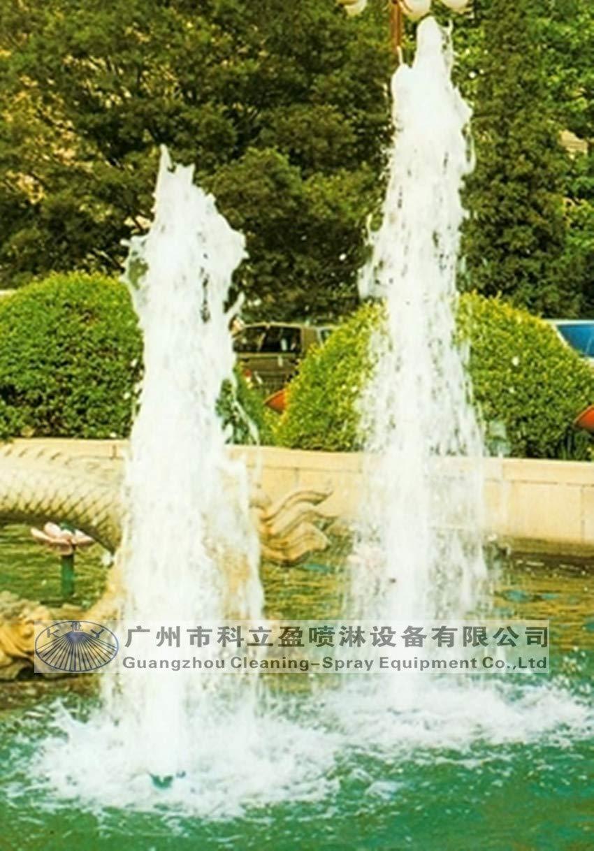 Anncus 5 pcs per lot, 1/2'' Copper ice Tower Fountain Nozzle