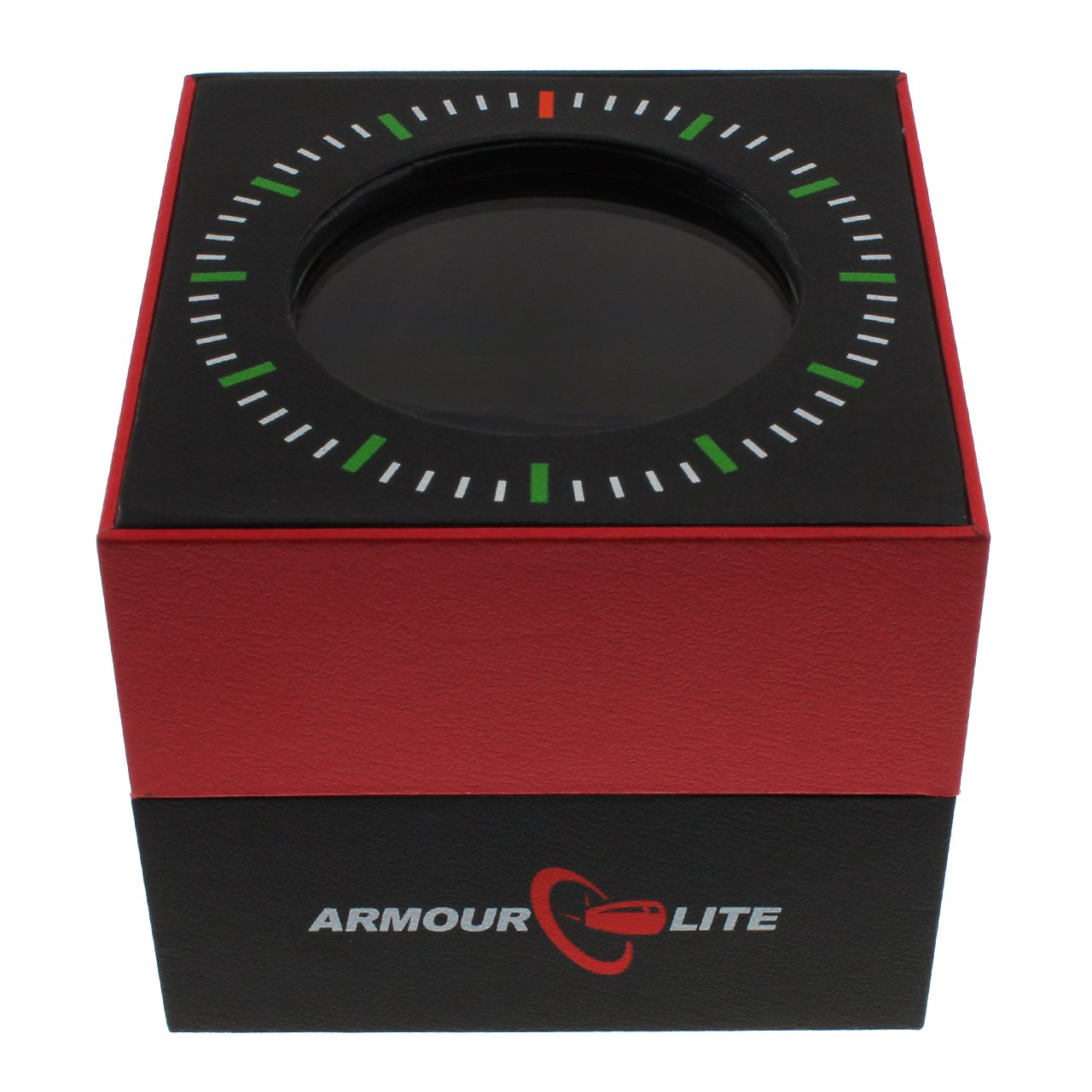 Armourlite Shatterproof Scratch Resistant High Impact Glass Tritium Chrono Watch by Armourlite
