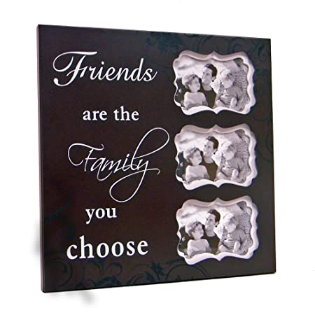 16x16 Frame Friends Are The Family You Choose Amazoncouk