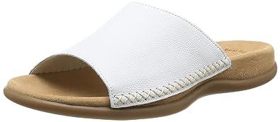 Gabor Shoes 03.705.21 Damen Pantoletten,Weiß (weiss),36 EU