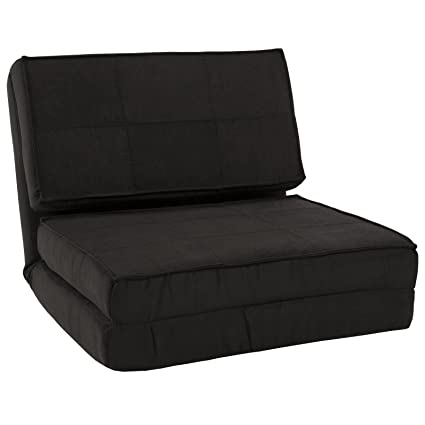 amazon com fold down chair flip out lounger convertible sleeper bed rh amazon com flip out sofa bed flip out sofa bed