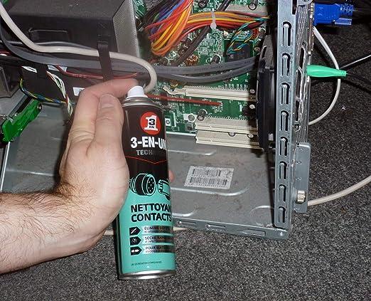Limpiador de contactos - 3 EN UNO Profesional - Spray 250ml