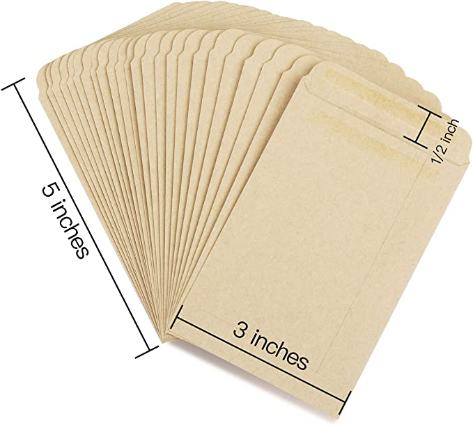 Lists Seed Type Date Planted Set of Fifteen Variety Date Harvested Seed packet Envelopes 15 /& Notes