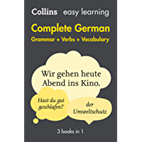 Easy Learning German Complete Grammar, Verbs and Vocabulary (3 books in 1) (Collins Easy Learning) (German Edition)