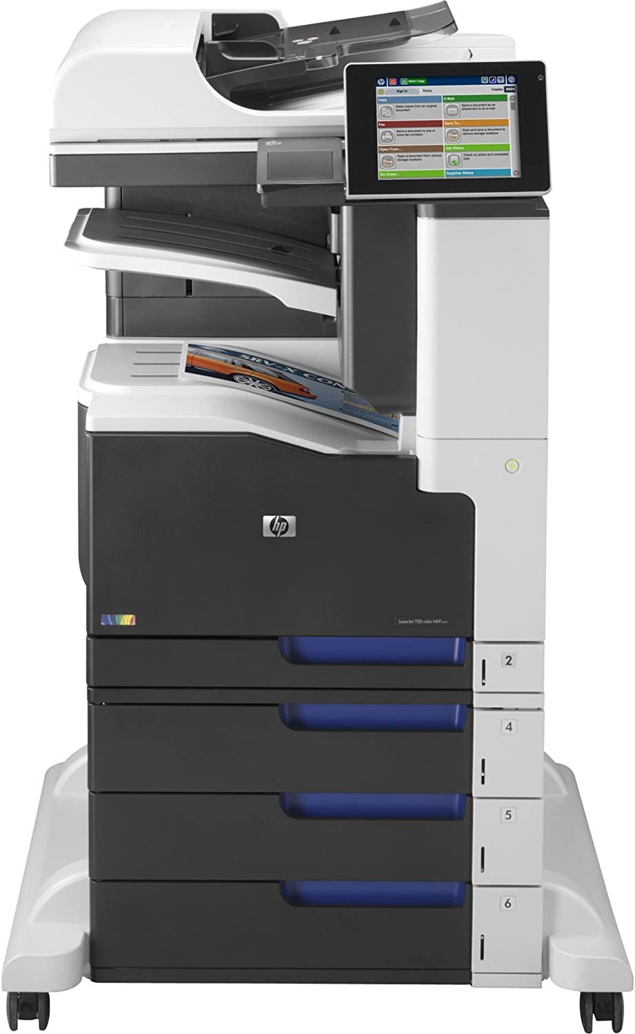 HP CC524A Laserjet Enterprise 700 Color MFP M775z Laser Printer, Copy/Fax/Print/Scan