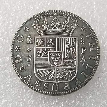 1731,1741,1821,España,Fernando Vii,Chapado en Plata,Artesanías ...