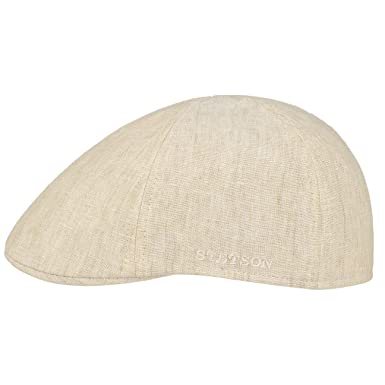 aac6bf43 Stetson Putnam Linen Gatsby Cap flax: Amazon.co.uk: Clothing