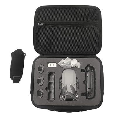 Tineer Waterproof Hard Shell Shoulder Handbag - EVA Carrying Case Travel Bag Protective for DJI Mavic Mini Drone Accessories: Electronics