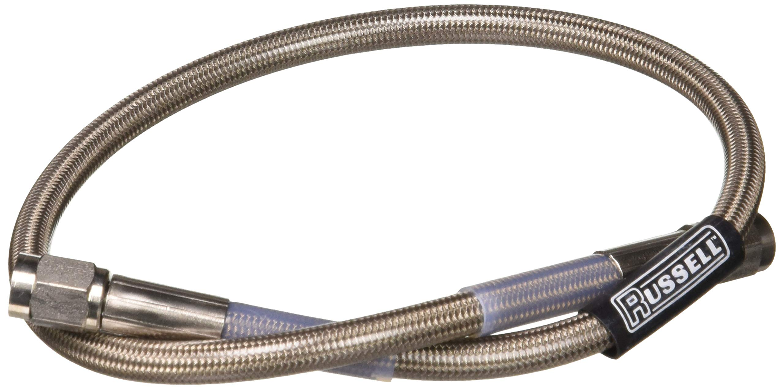Russell 656222 Endura 20'' -3AN to -3AN Straight Brake Hose