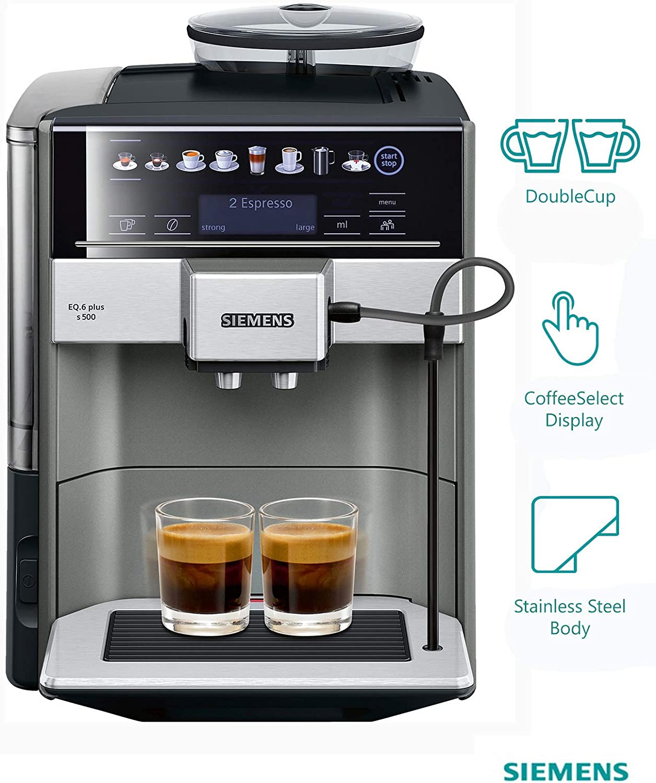 Amazon.com: Seimens EQ.6 Plus S500 - Máquina de café ...
