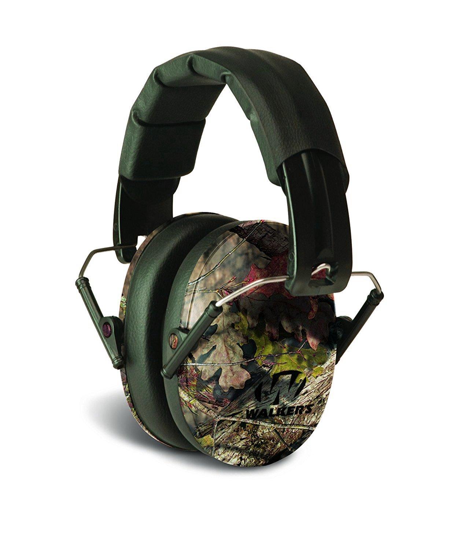 Walker's Low Profile Folding Muff (Mossy Oak Camouflage) by Walker's Game Ear