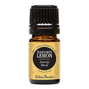 Edens Garden Mandarin Lemon Essential Oil Synergy Blend, 100% Pure Therapeutic Grade (Cold Flu & Pain) 5 ml