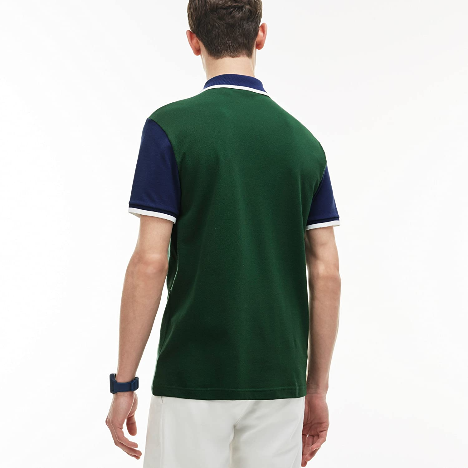 Polo Uomo Lacoste III Verde Ph2014 Primavera Estate 2017: Amazon ...